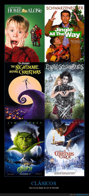 clásicos,navidad,películas