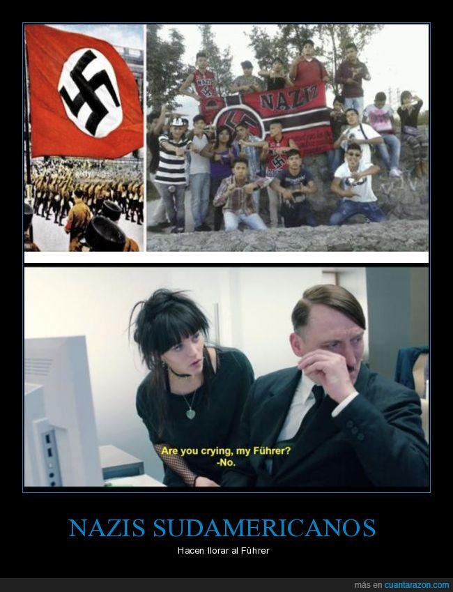 hitler,nazis,sudamericanos