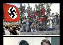 Enlace a Si Hitler levantara la cabeza...