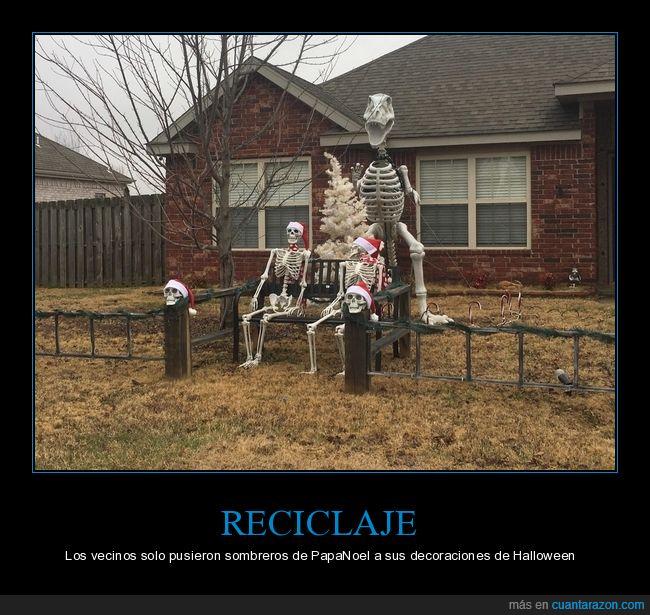 esqueletos,halloween,Navidad