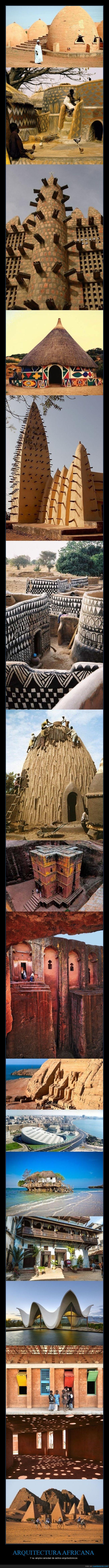 áfrica,arquitectura,construcciones