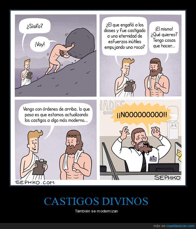 castigo,dioses,sísifo,trabajo