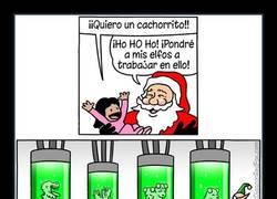 Enlace a Papá Noel hace lo que haga falta para cumplir tus deseos navideños