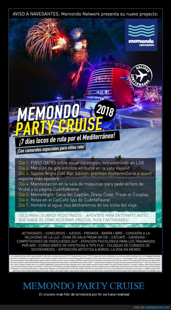 apuntaos,crucero,fiesta,locura,memondo party cruise,party