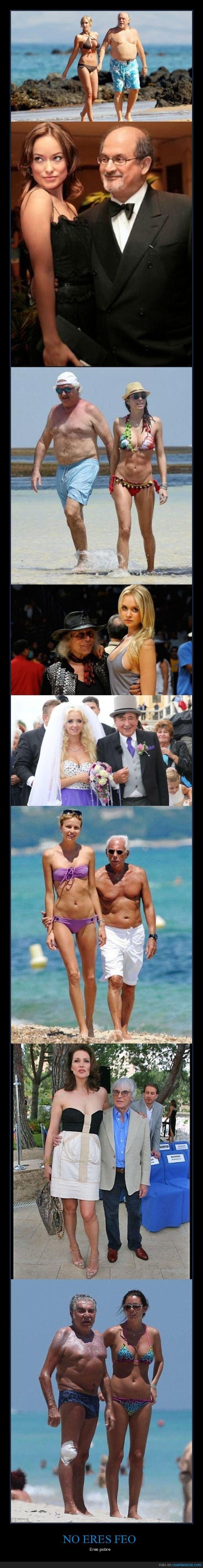 chicas,parejas,ricos,viejos