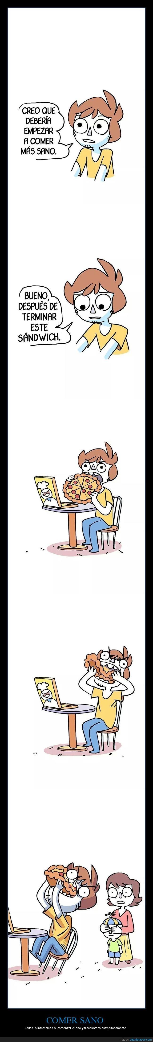 comer,pizza,sandwich,sano
