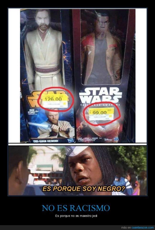 muñecos,negro,precios,star wars