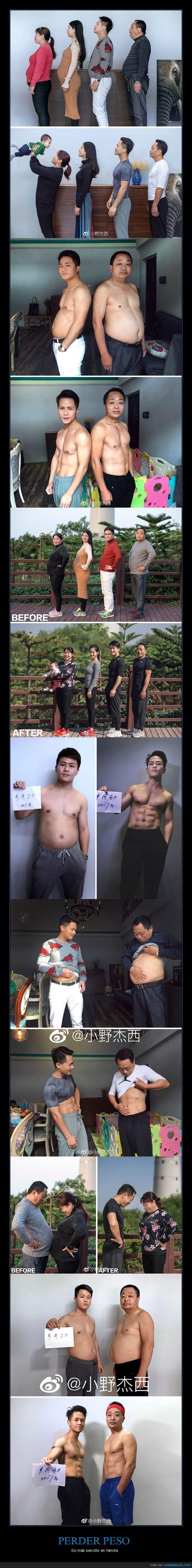 chinos,familia,perder peso