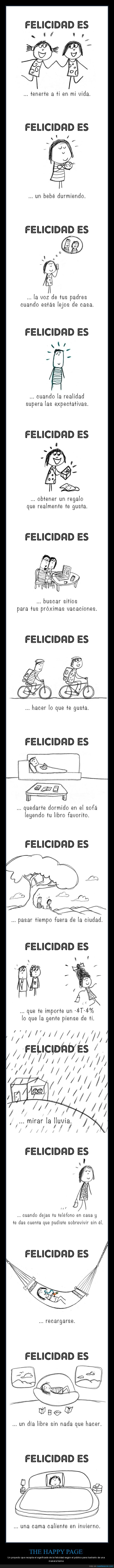 felicidad,the happy page