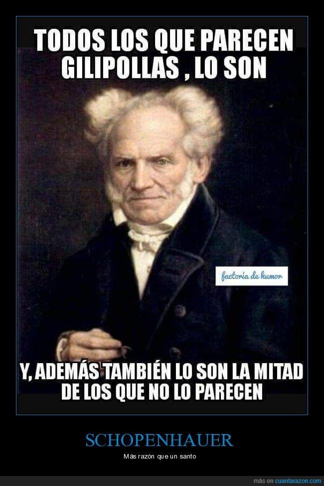 citas,schopenhauer