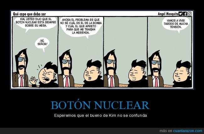botón nuclear,kim jong un,merienda