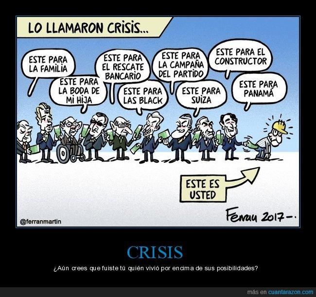 crisis,dinero,políticos,tú