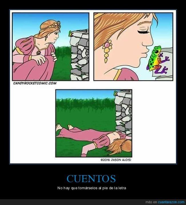 beso,muerta,princesa,rana