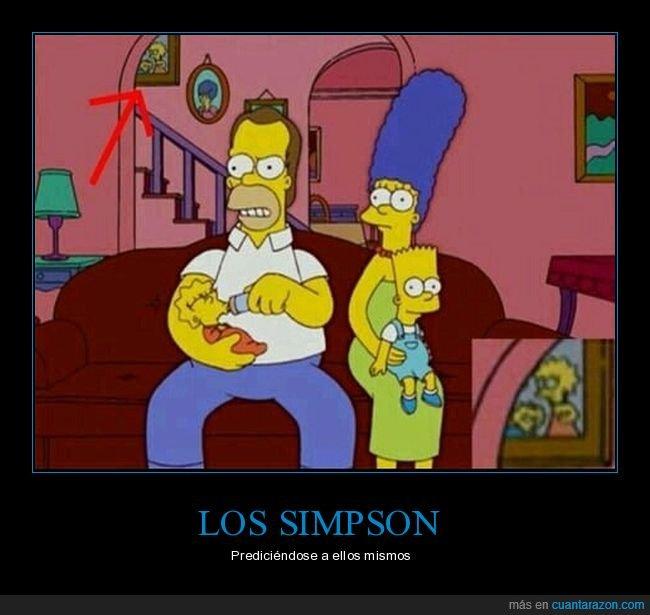 lisa bebe,lisa simpson,predicción,simpson