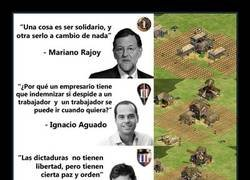 Enlace a Política vs Age of Empires