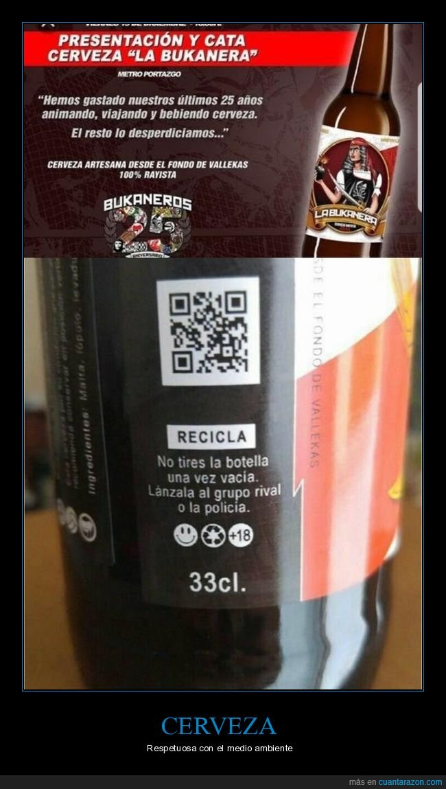 cerveza,lanzar,policía,reciclaje,rival