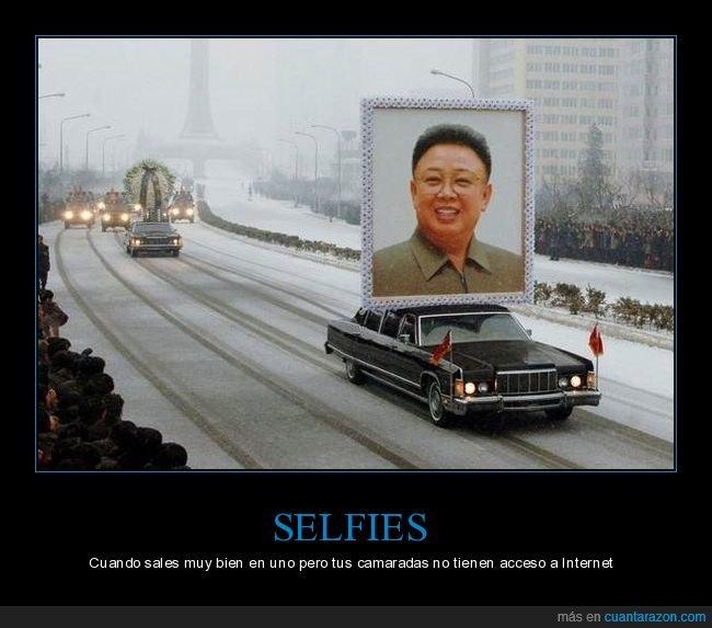 corea del norte,kim jong il,selfie