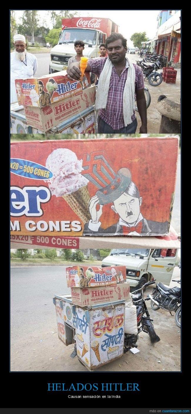 helados,hitler,india
