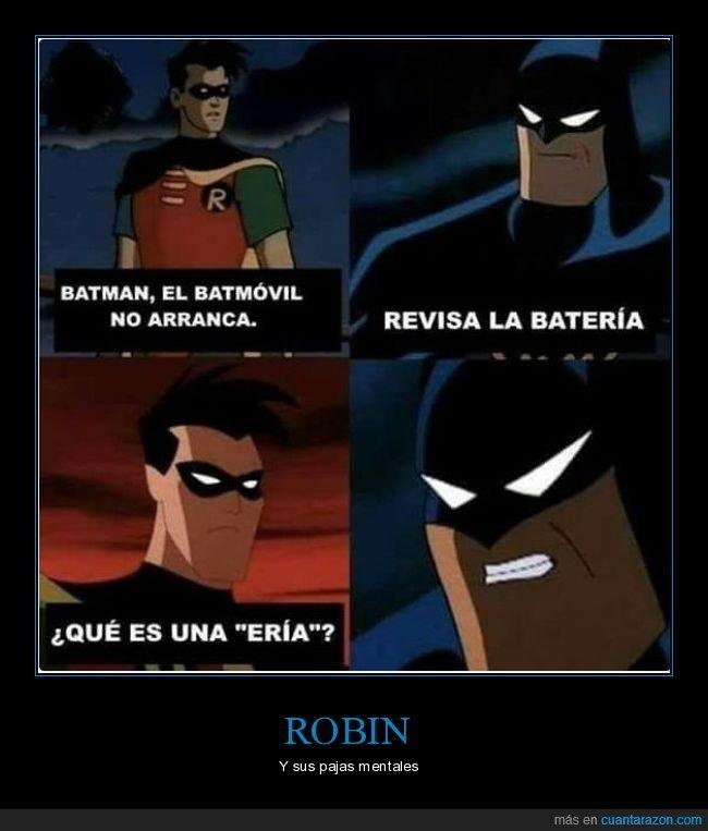 batería,batman,batmóvil,robin