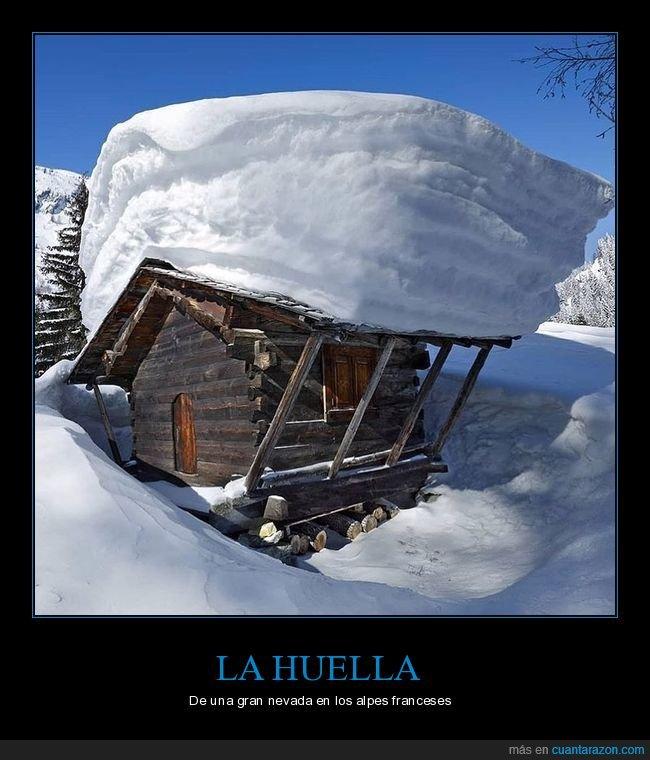 alpes,nevada,nieve