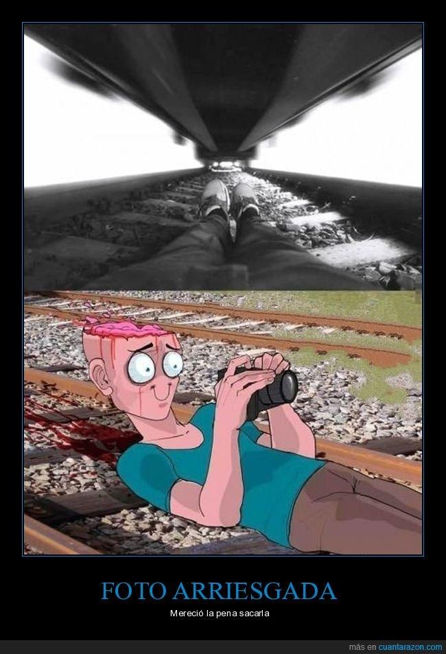 cabeza,fotografía,tren