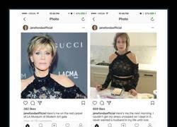 Enlace a Jane Fonda no se lleva bien con las cremalleras de los vestidos