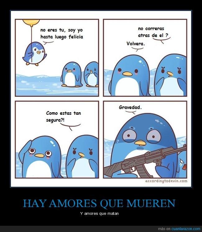 ak47,amor,azul,humor abdsurdo,pinguinos