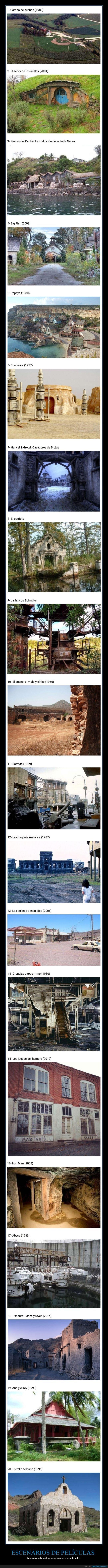 abandonados,cine,escenarios,películas