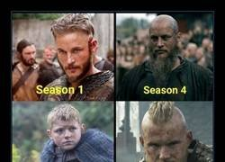 Enlace a La evolución de Vikings