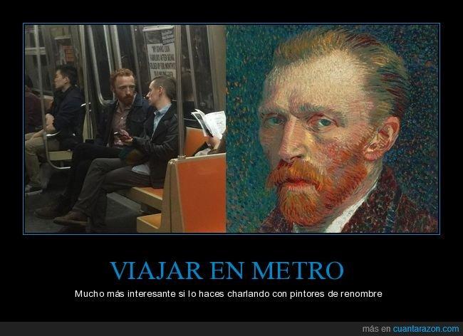 metro,parecidos,van gogh