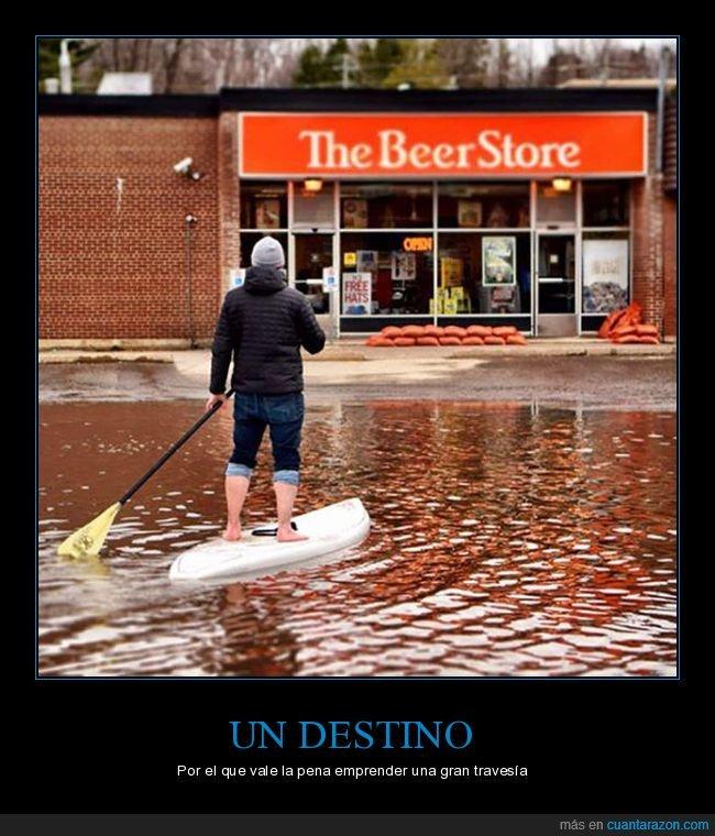 cerveza,inundación,paddle surf,tienda