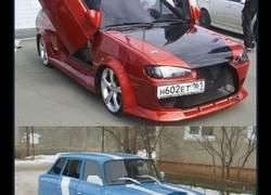 Enlace a Así tunean los coches en Rusia