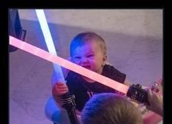 Enlace a Fan de Star Wars desde el principio