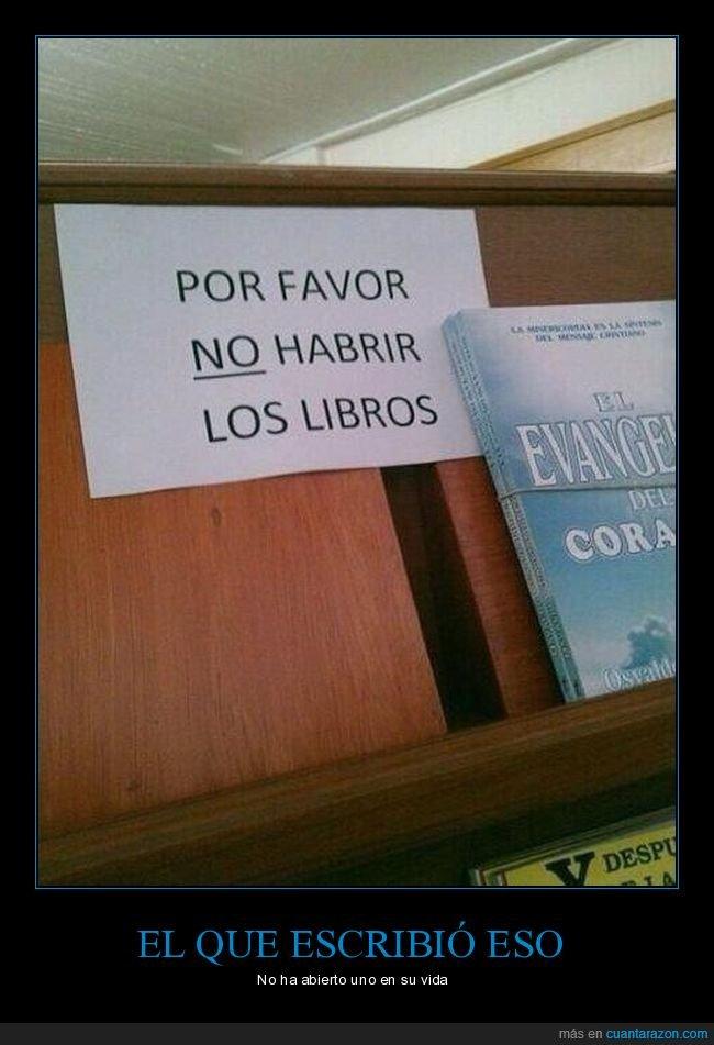 cartel,libros,ortografía