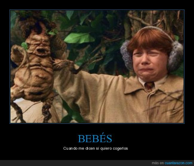 bebé,coger,harry potter