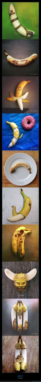 arte,plátanos