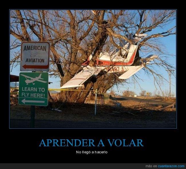 accidente,aprender a volar,avión,fail