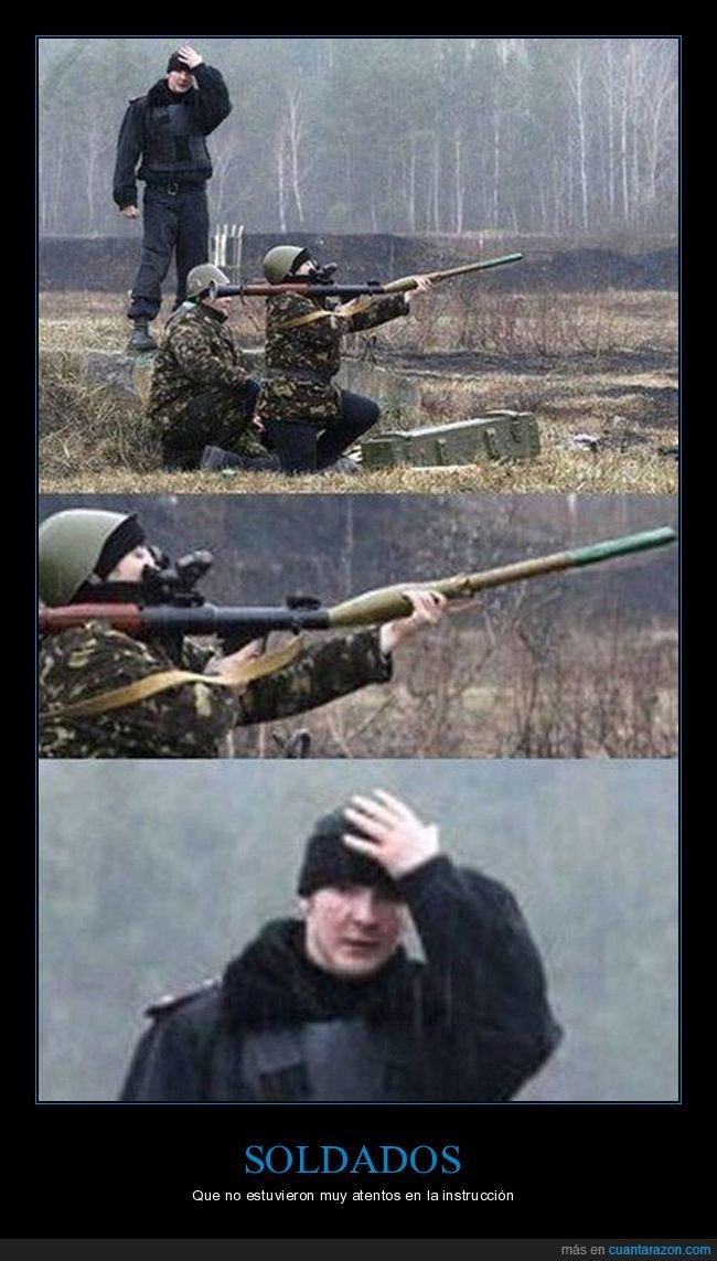 bazooka,facepalm,fail,soldado