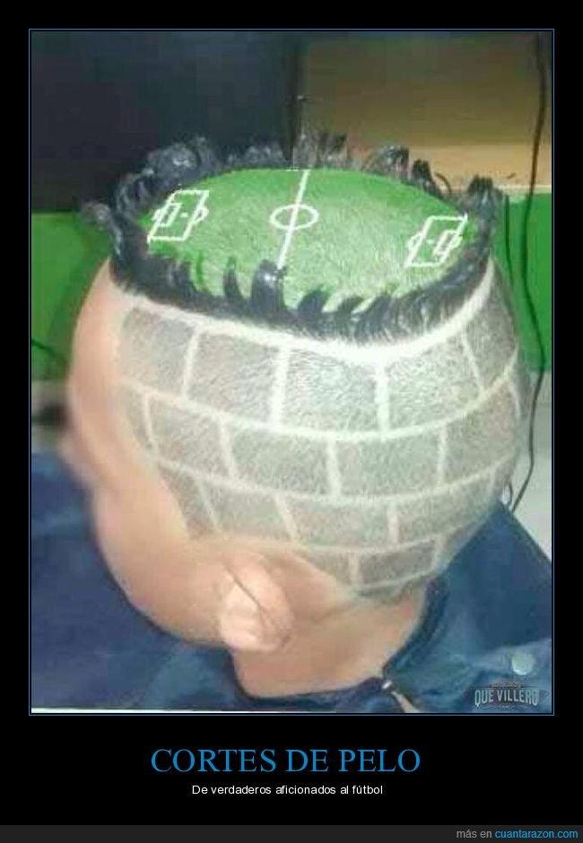corte de pelo,fútbol,wtf