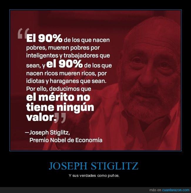 citas,economía,joseph stiglitz,pobres,ricos