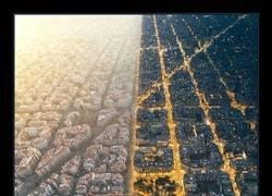 Enlace a Barcelona de día y de noche