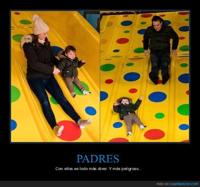 diferencias,hijo,madre,padre