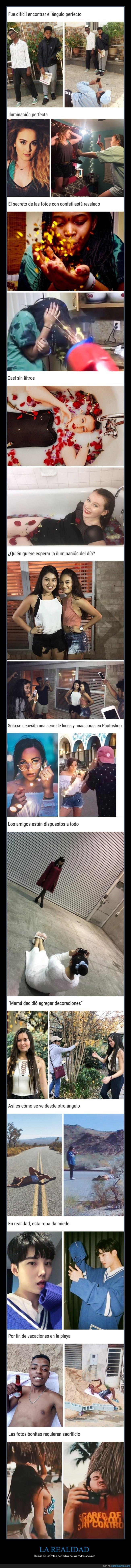 fotos,realidad,redes sociales