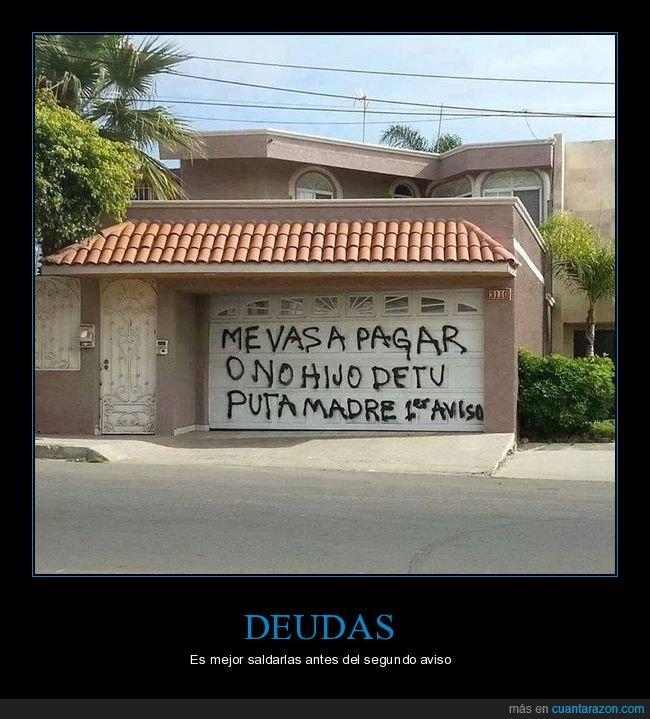 garaje,pagar,pintada,puerta