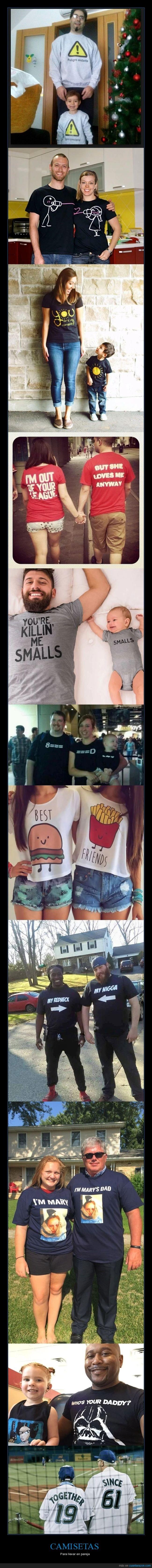 camisetas,parejas