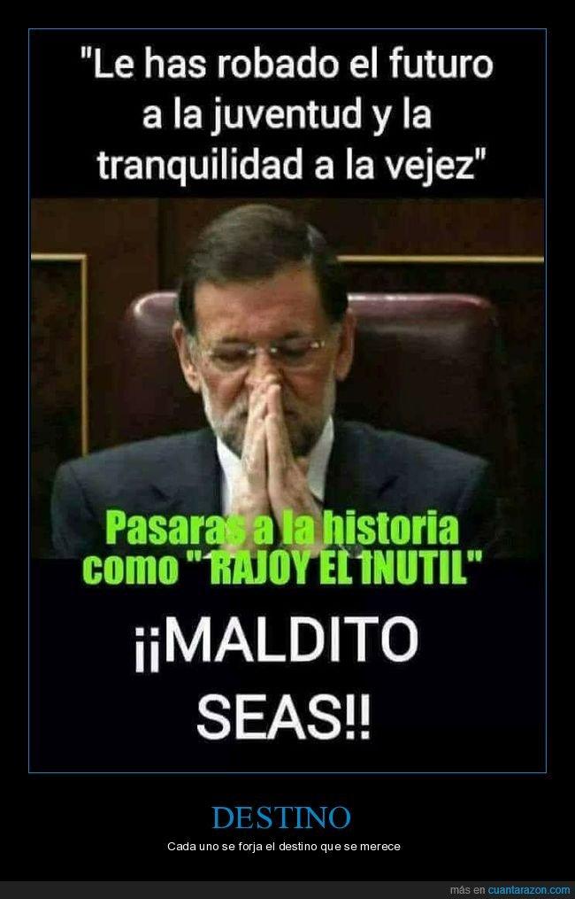 corrupto,inutil,político,pp,rajoy