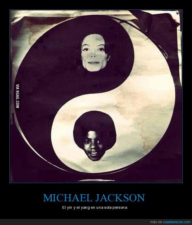 blanco,michael jackson,negro,yin y yang
