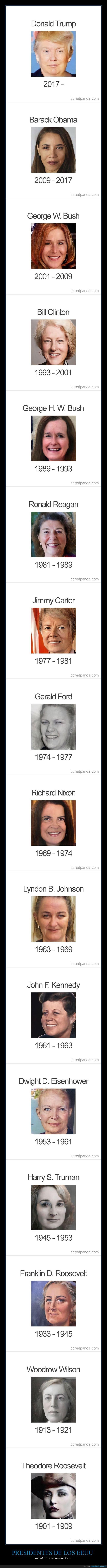 cambio de caras,eeuu,mujeres,presidentes
