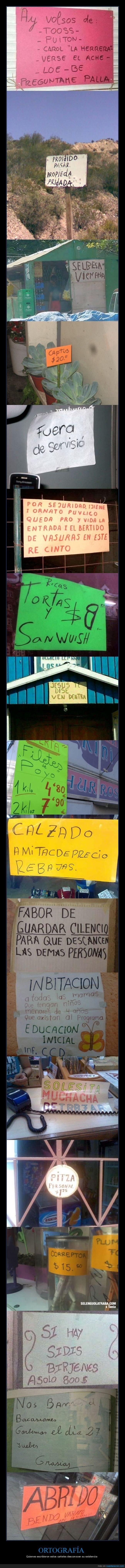 carteles,fails,ortografía