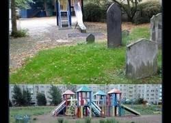 Enlace a Parques infantiles creados para traumatizar a los niños